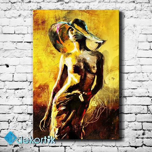 Woman Art Tablo