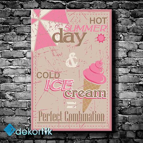 Vintage Ice Cream Tablo II