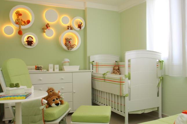 fonte: Cuidar de Bebê [http://www.cuidardebebe.com/quarto-de-bebes-verde-dicas ]