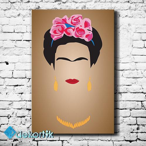 Frida Kahlo Kanvas Tablo