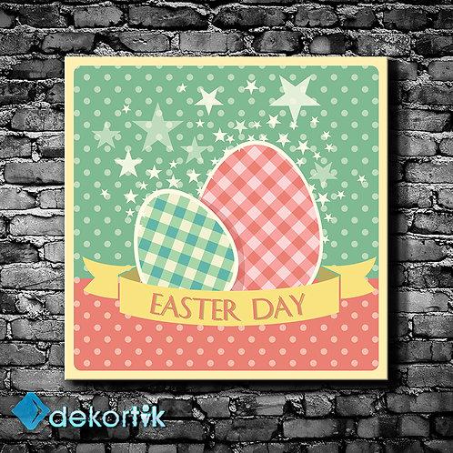 Vintage Easter Day Tablo