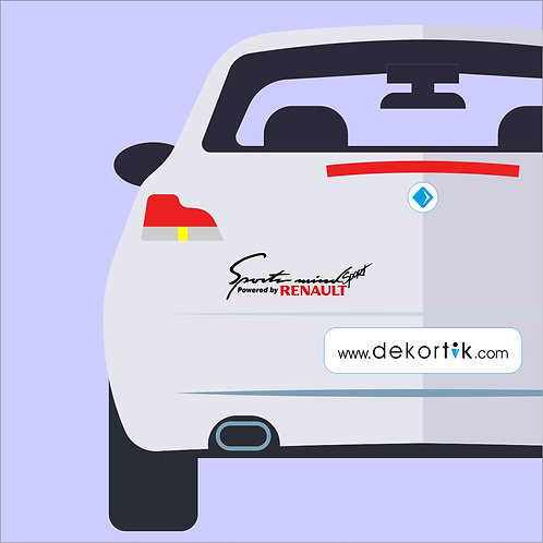 Sport Mind Renault Sticker