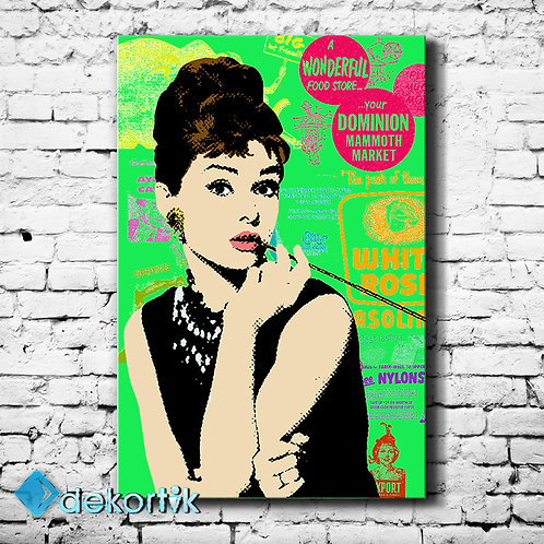 Pop Art Audrey Hepburn Tablo I