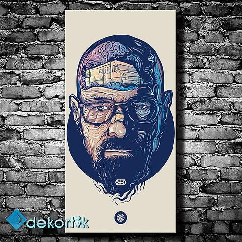 Heisenberg Kanvas Tablo