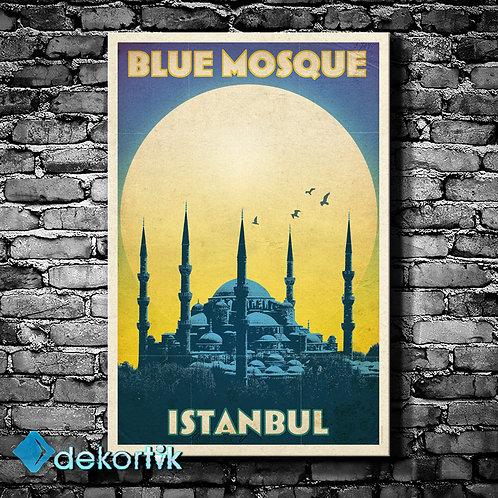 İstanbul Blue Mosque Tablo