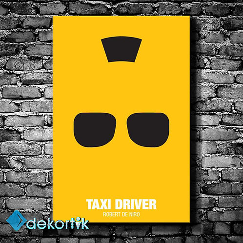 Taxi Driver Kanvas Tablo