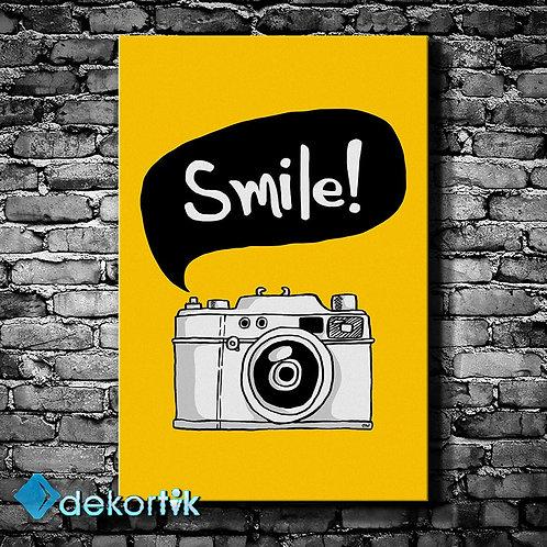 Smile Kanvas Tablo