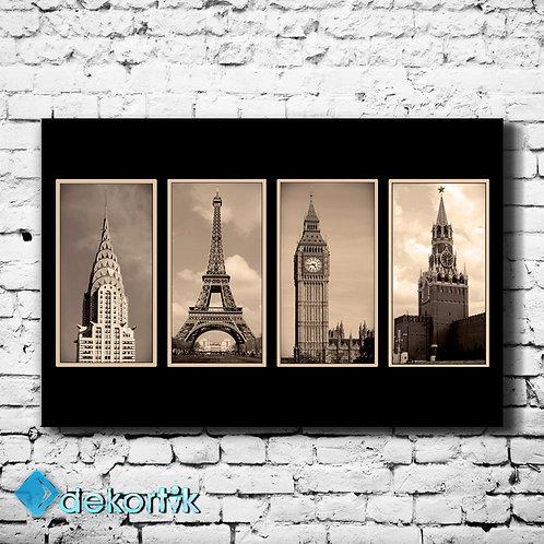 Şehirler Kuleler Tablo