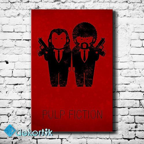 Pulp Fiction Kanvas Tablo