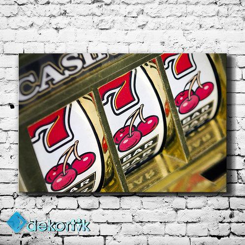 Casino Kanvas Tablo