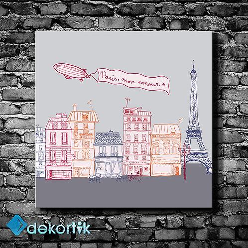 Paris Mon Amour Tablo