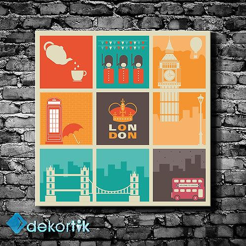 Vintage London Tablo II