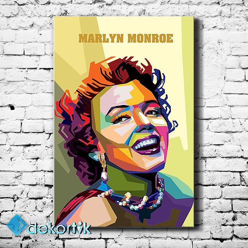 Pop Art Marilyn Monroe Tablo II