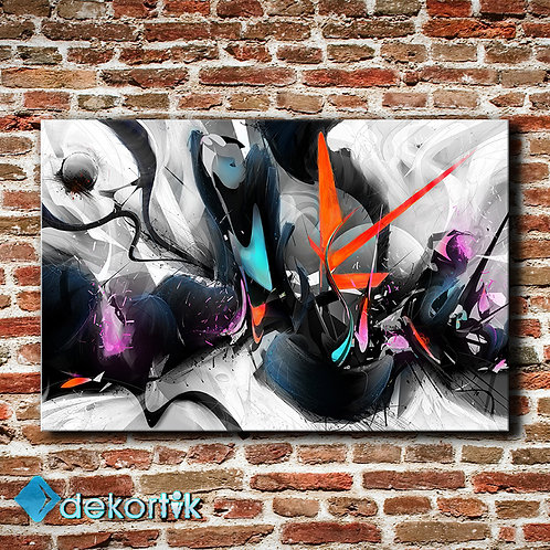 Abstract Black Tablo