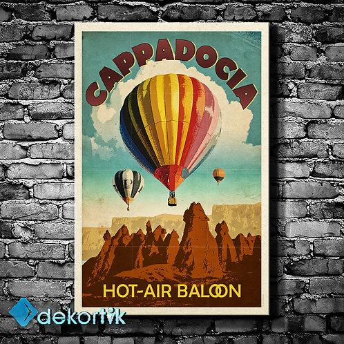 Kapadokya ve Balon Tablo
