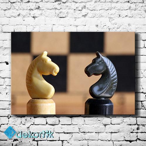 Satranç Atlar Tablo