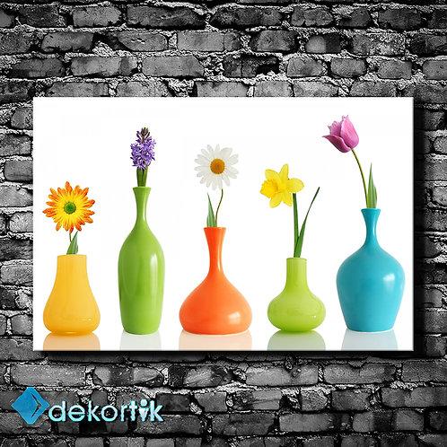 Vazolar ve Çiçekler Tablo
