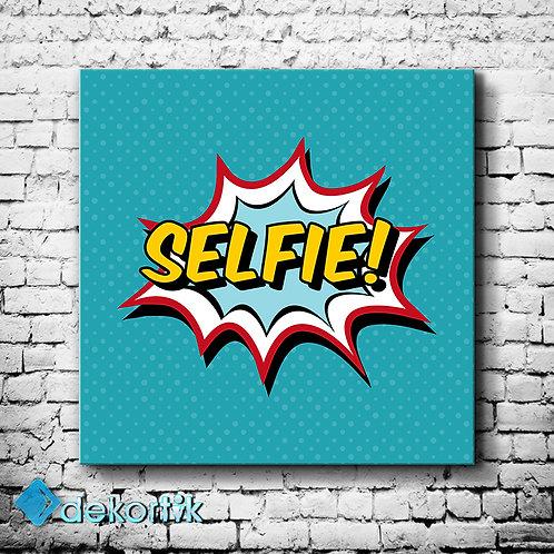 Tipografi Selfie Tablo