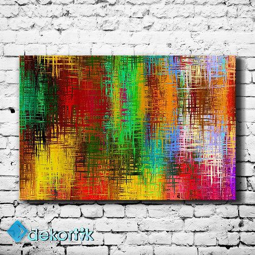 Color Glass Efect Kanvas Tablo