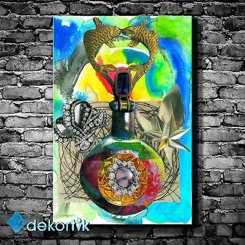 Expressive Art Kanvas Tablo III