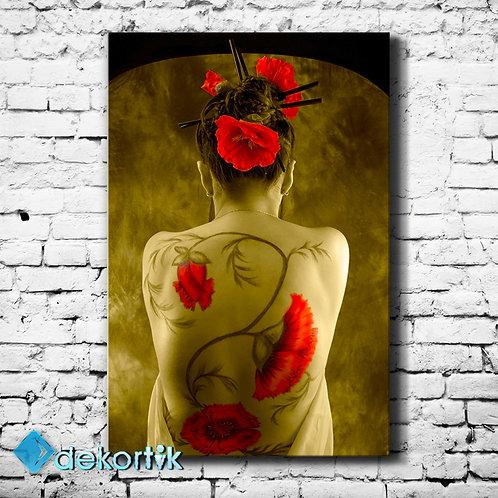 Tattoo Flower Tablo