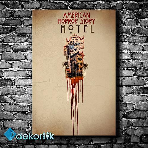 American Horror Story Hotel Kanvas Tablo