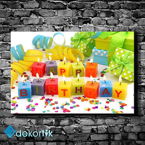 Happy Birthday Mumlar Tablo