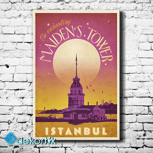 İstanbul Maidens Tower Tablo
