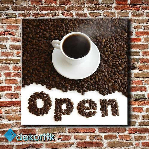 Open Coffee Tablo