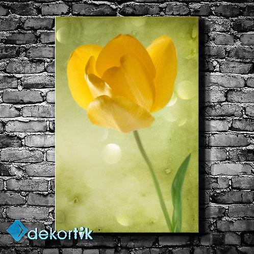 Sarı Çiçek Kanvas Tablo II