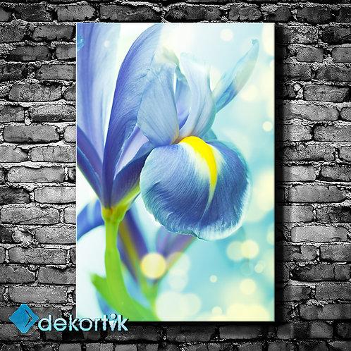 Floral Blue Tablo I