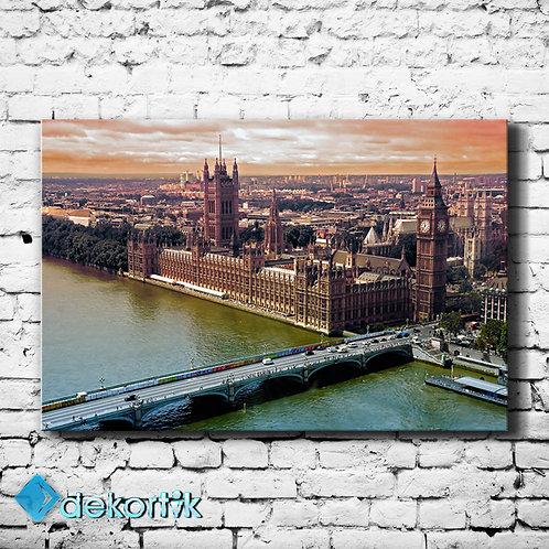 London City Kanvas Tablo