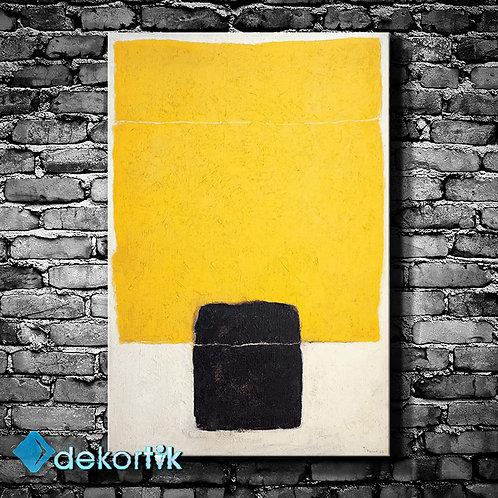 Siyah Nokta Kanvas Tablo
