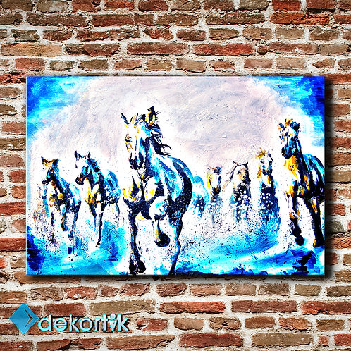 Blue Horses Tablo