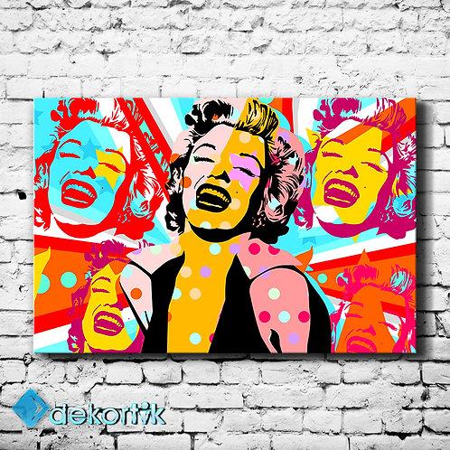 Pop Art Marilyn Monroe Tablo