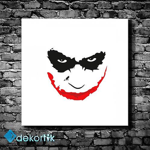 Joker Silüet Tablo