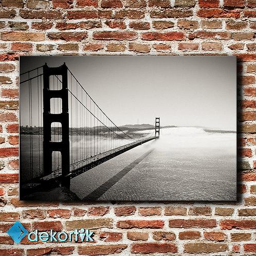 Black White Köprü Tablo