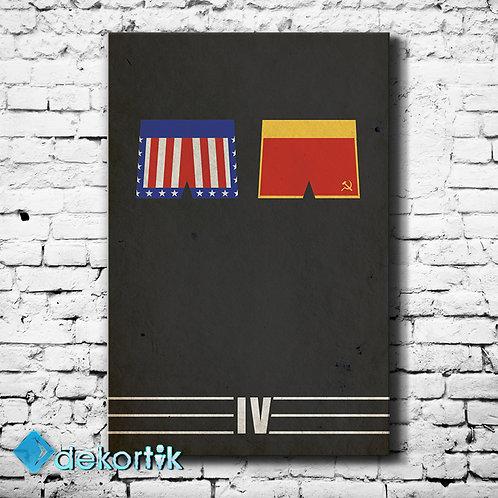 Rocky IV Kanvas Tablo