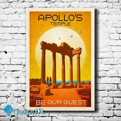 Türkiye Apollon Tapınağı Tablo