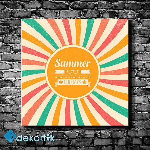 Tipografi Summer Tablo