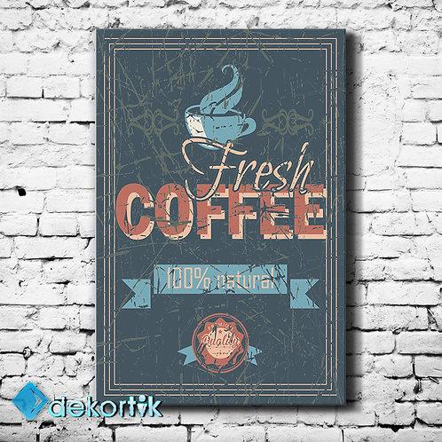 Vintage Coffee Fresh Tablo