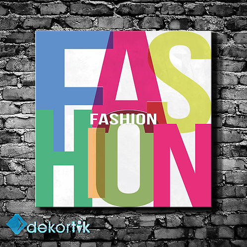 Tipografi Fashion Tablo I