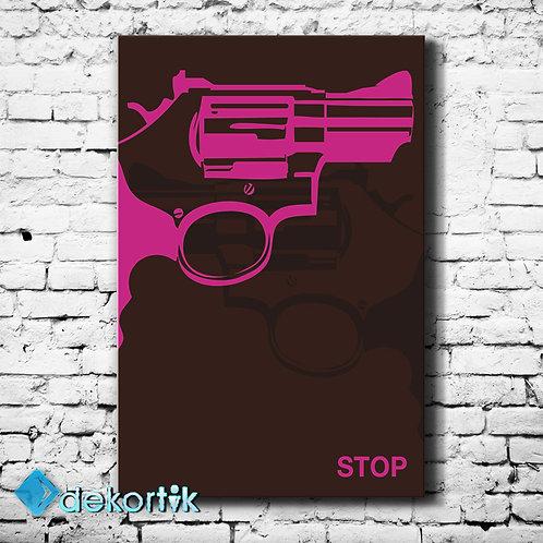 Stop Kanvas Tablo