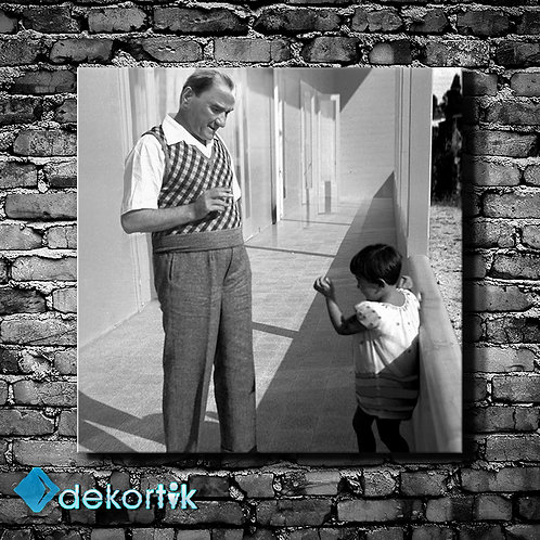 Atatürk ve Çocuk Tablo