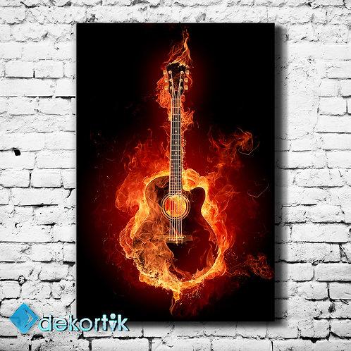 Fire Classic Guitar Tablo