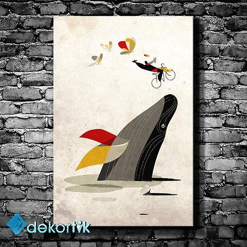 Creative Balina Kanvas Tablo II