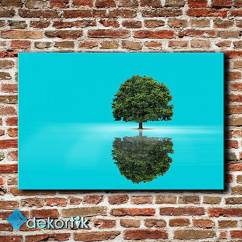Tek Ağaç Tablo