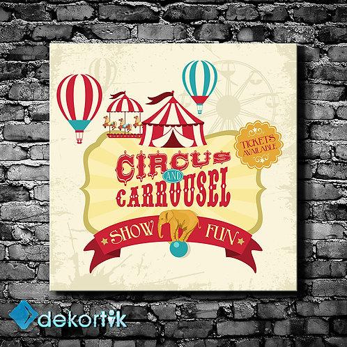 Vintage Circus Tablo