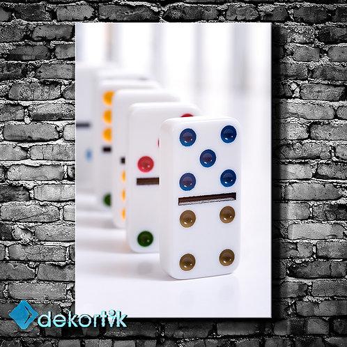 Dekoratif Domino Tablo