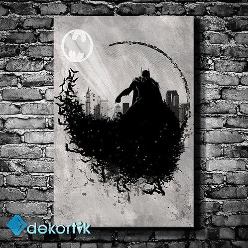 Batman Kanvas Tablo